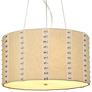 Glama Drum Pendant by LBL Lighting