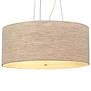Fiona Grande Drum Pendant by LBL Lighting