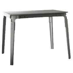 Steelwood Square Table by Magis