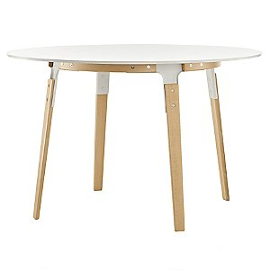 Steelwood Round Table by Magis