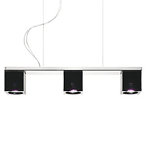 Cubetto 3-Light Linear Pendant by Fabbian