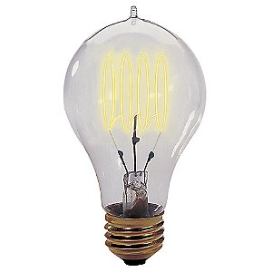 25 Watt A19 Loop Series Bulb by Bulbrite