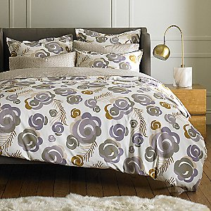 Deco Floral Duvet Set by DwellStudio
