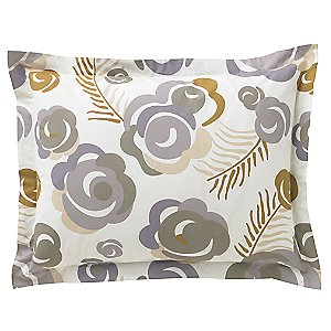 Deco Floral Sham Pair by DwellStudio