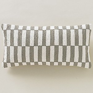Deconstructed Blocks Pillow by DwellStudio