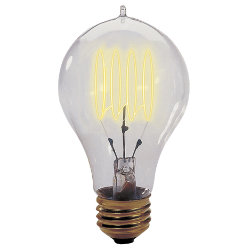 40 Watt A23 Loop Series Bulb by Bulbrite