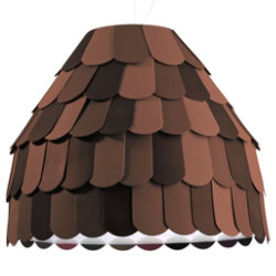 Roofer F12A01 Pendant by Fabbian