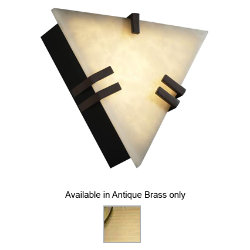 Clouds Clips Triangle Wall Sconce by Justice Design - OPEN BOX RETURN