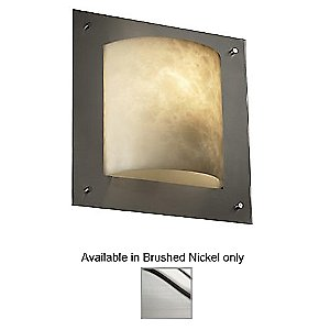 Clouds Framed Square Wall Sconce by Justice Design - OPEN BOX RETURN