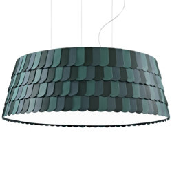 Roofer Drum Pendant by Fabbian