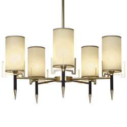 Emile Chandelier by Robert Abbey