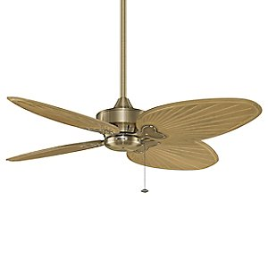 Windpoint Antique Brass Ceiling Fan by Fanimation
