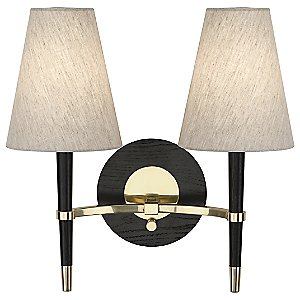 Ventana Double Wall Sconce by Jonathan Adler