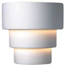 Terrace Outdoor Wall Sconce by Justice Design