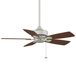 Cancun Satin Nickel Ceiling Fan by Fanimation