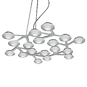 LED Net Circle Suspension by Artemide