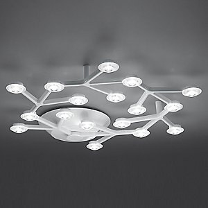 LED Net Circle Ceiling Light by Artemide