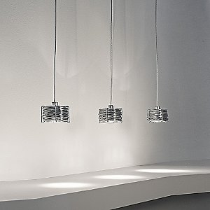 Bobino 3-Light Pendant by Terzani