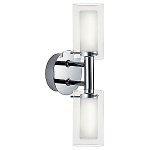 Palermo Double Wall Sconce by Eglo
