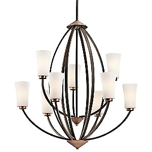 Edgecomb 2-Tier Chandelier by Kichler
