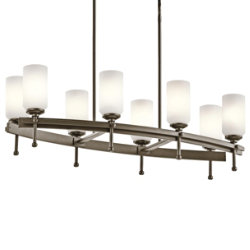 Ladero Oval Chandelier by Kichler