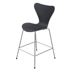 Series 7 Counter Stool - Colored Ash by Fritz Hansen