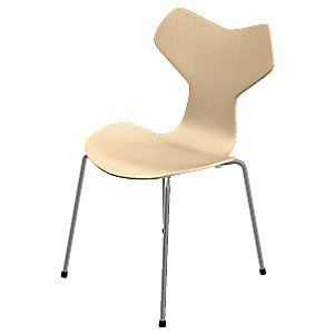 Grand Prix Chair - Natural Veneer by Fritz Hansen