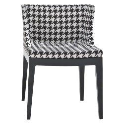 Mademoiselle Chair Houndstooth by Kartell