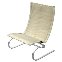 PK20 Wicker Lounge Chair by Fritz Hansen