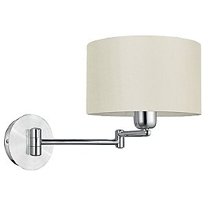 Halva Swingarm Wall Sconce by Eglo