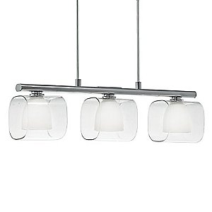 Lou Linear Suspension by Eglo