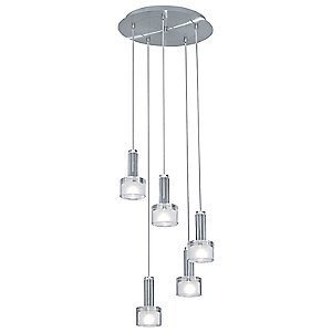 Fabiana Multi-Light Pendant by Eglo