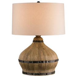 Farmhouse Table Lamp by Currey and Company