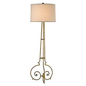 Taylor Floor Lamp by Currey and Company
