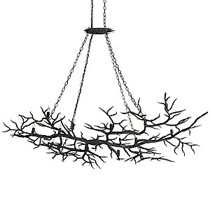 Rainforest Chandelier by Currey and Company