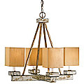 Eclipse Chandelier by Currey and Company