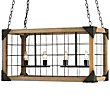Eufaula Rectangular Chandelier by Currey and Company