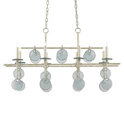 Sethos Rectangular Chandelier by Currey and Company