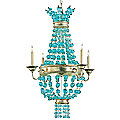 Serena Chandelier by Currey and Company