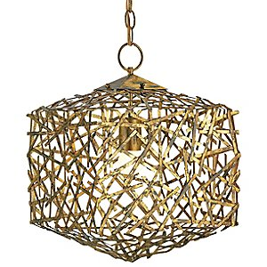 Confetti Cube Pendant by Currey and Company