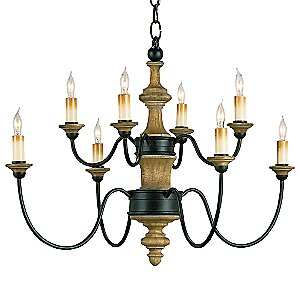 Abbey Chandelier by Currey and Company