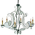 Bellamour Chandelier by Currey and Company