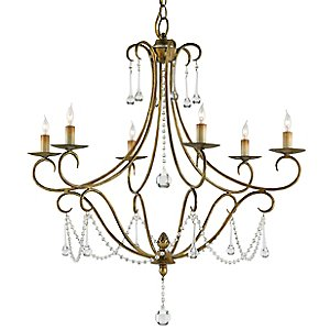 Agostina Chandelier by Currey and Company
