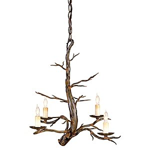 Treetop Chandelier by Currey and Company