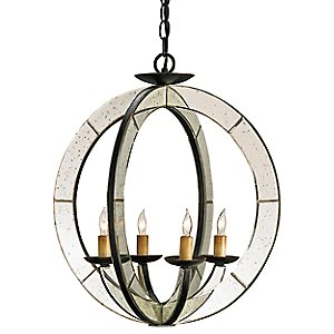 Meridian Chandelier by Currey and Company