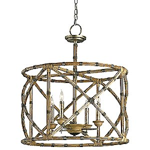 Palm Beach Lantern by Currey and Company