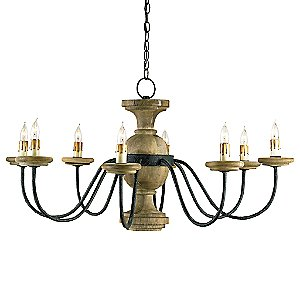 Treesmill Chandelier by Currey and Company