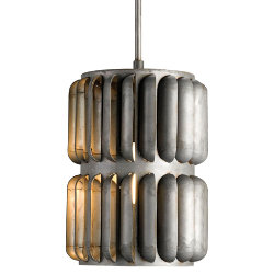 Turbina Pendant by Currey and Company