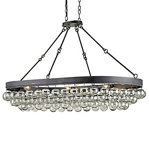 Balthazar Oval Pendant by Currey and Company