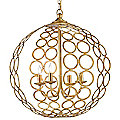 Tartufo Chandelier by Currey and Company